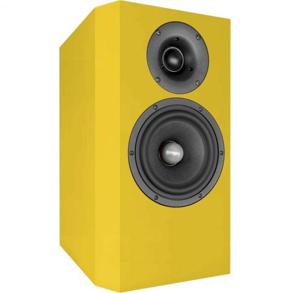 Emy Kompakt Audaphon Lautsprecher Gelb