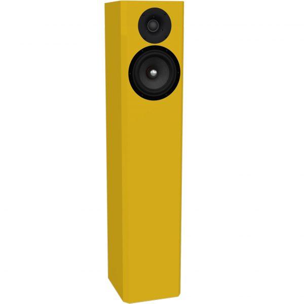 Audaphon Lautsprecher EMY One gelb