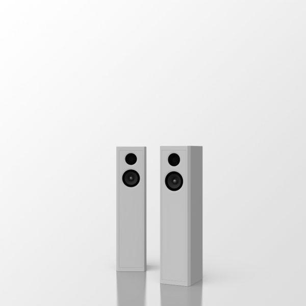 audaphon EMY One 2 Stück 1zu1 grauer Hintergrund