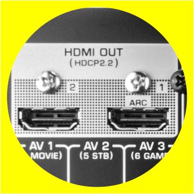 Audaphon HDMI Ausgang