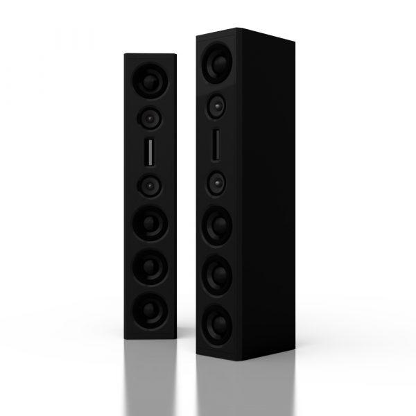 audaphon YVE Three schwarz metallic Lack