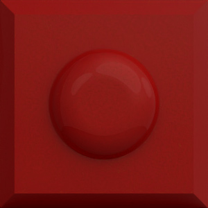 Farbe Rot-Metallic-Hochglanz