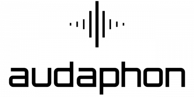 Audaphon Logo mit Schriftzug